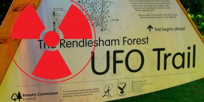 Rendlesham Forest UFO radiation survey