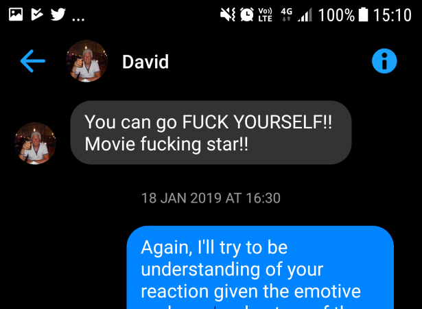 David Young - Movie fucking star